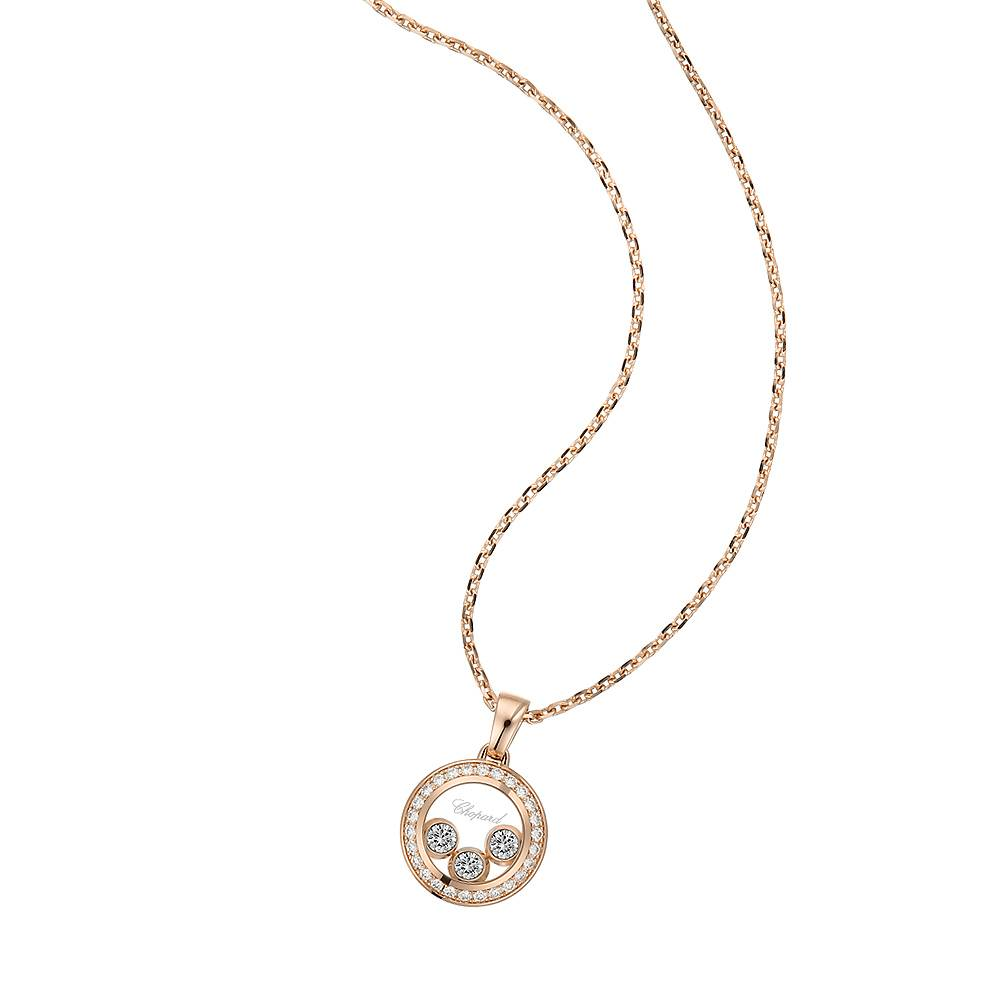 Pendant Chopard Happy Diamonds Happy Curves
