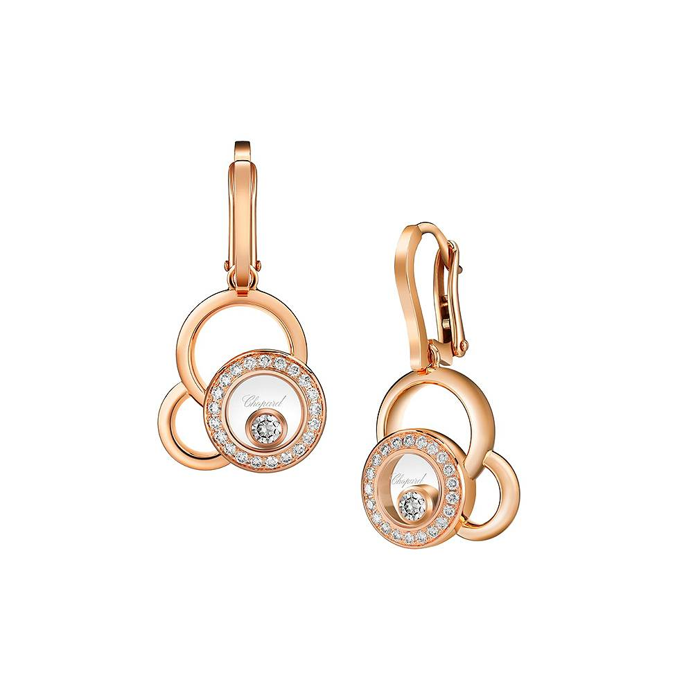 Earrings Chopard Happy Diamonds Happy Dreams
