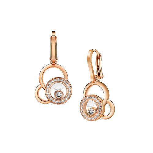 Earrings Chopard Happy Diamonds Happy Dreams