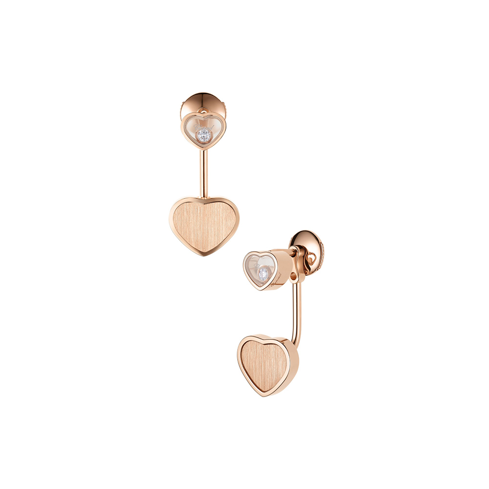 Earrings Chopard Happy Hearts James Bond 007 Limited Edition