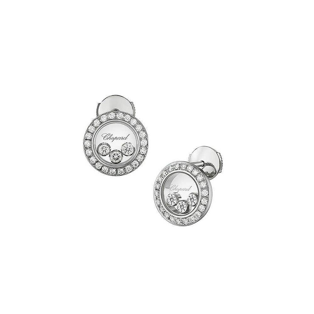 Earrings Chopard Happy Diamonds Icons Round