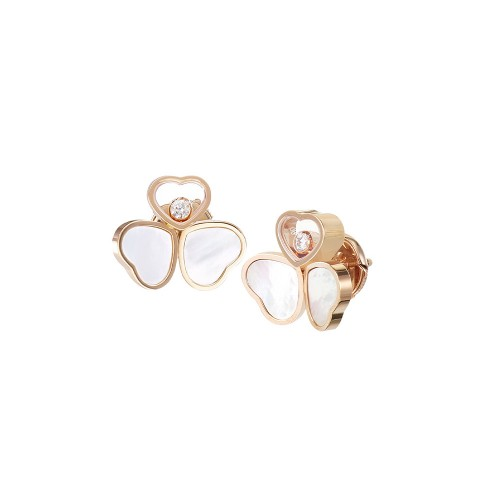 Earrings Chopard Happy Hearts