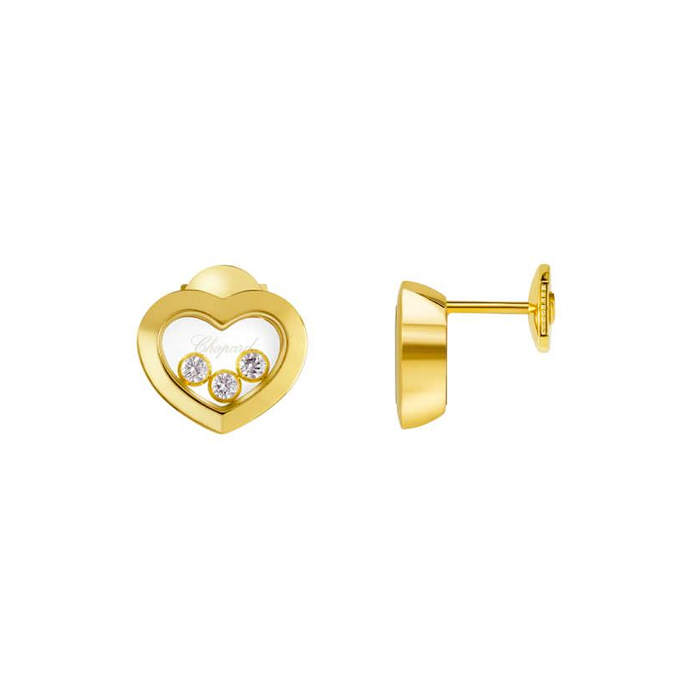 Earrings Chopard Happy Diamonds Icons Heart