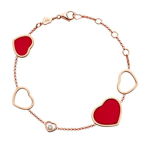 Браслет Chopard Happy Hearts