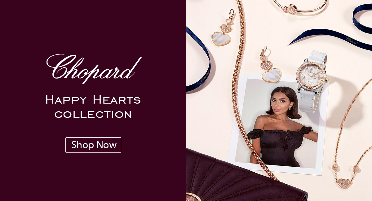 Chopard Happy Hearts watches collection