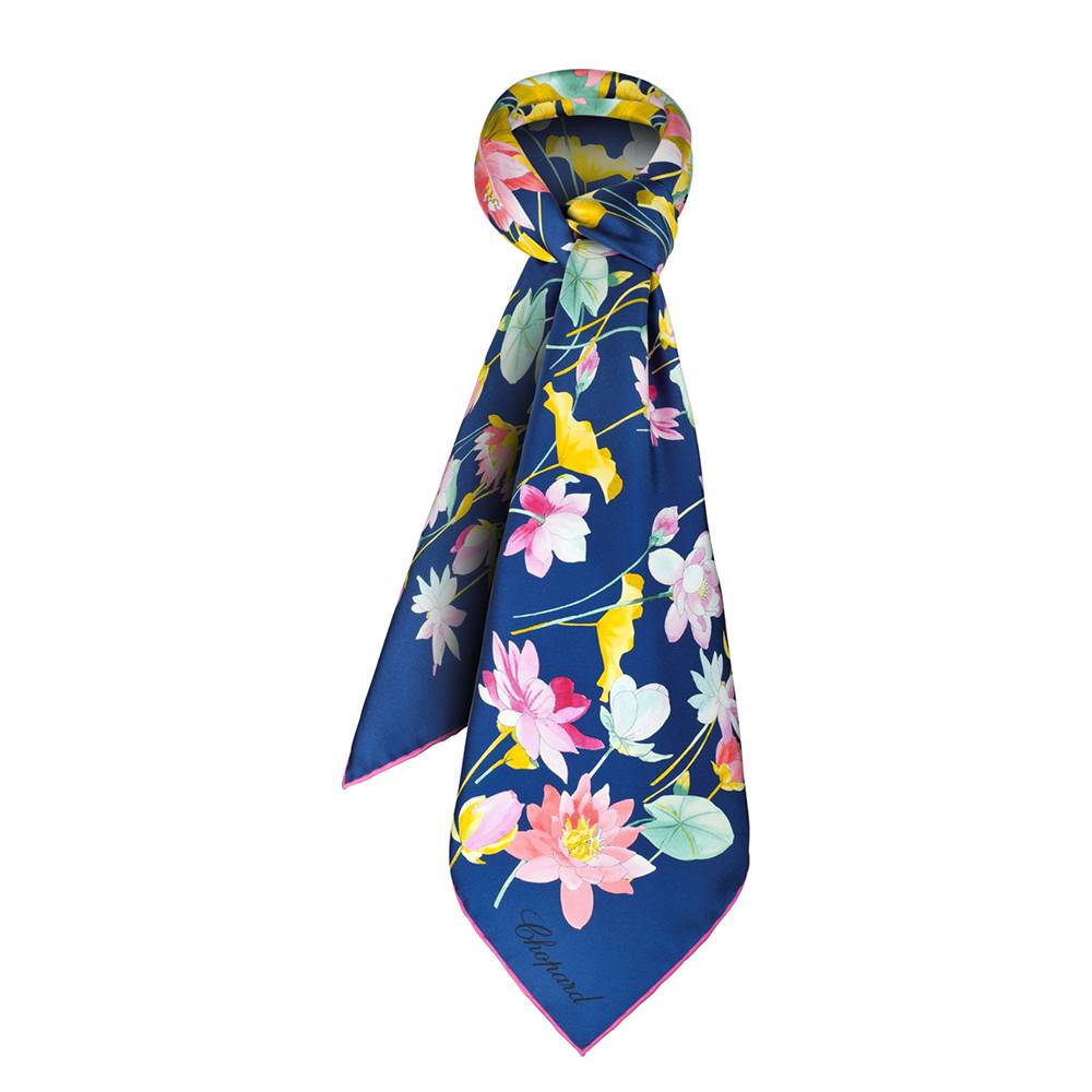 Scarf Chopard Lotus Flower