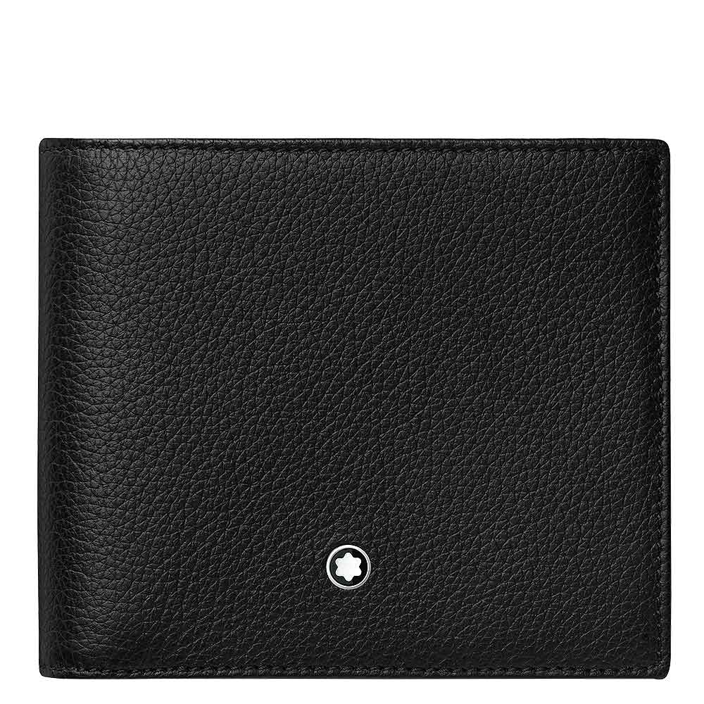 Wallet 8 cc Montblanc Meisterstück Soft Grain with zipped Coin Case