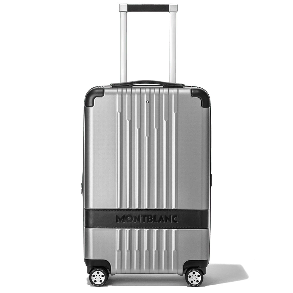 Trolley Montblanc #MY4810 carry-on Compact Silver
