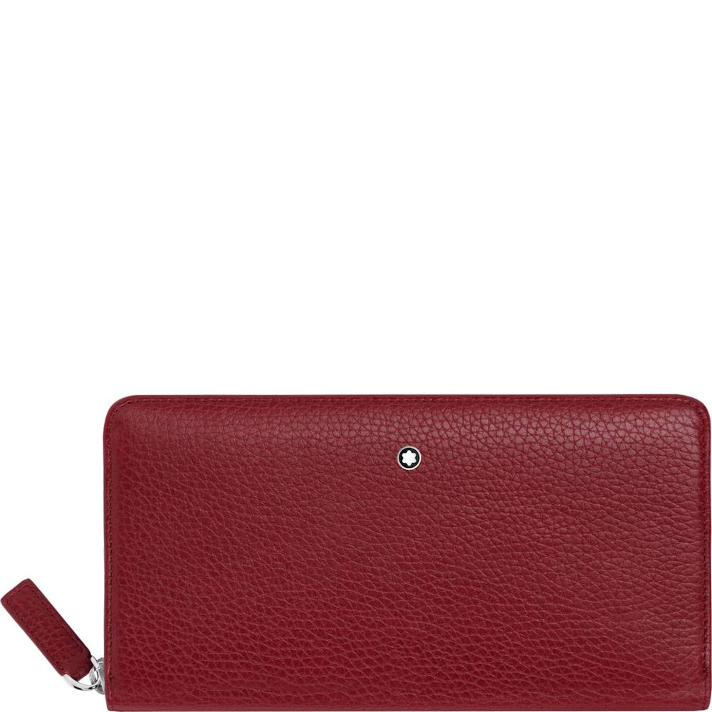 Long Wallet 8 cc Montblanc Meisterstück Soft Grain with Zip